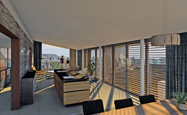 modern penthouse duurzaam-mesman