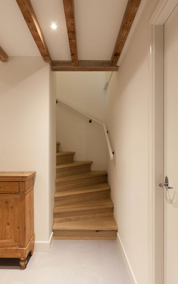 5 souterrain ontwerp trap